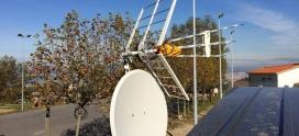 Antena TDT Alta Definición y Parabólica Canal +