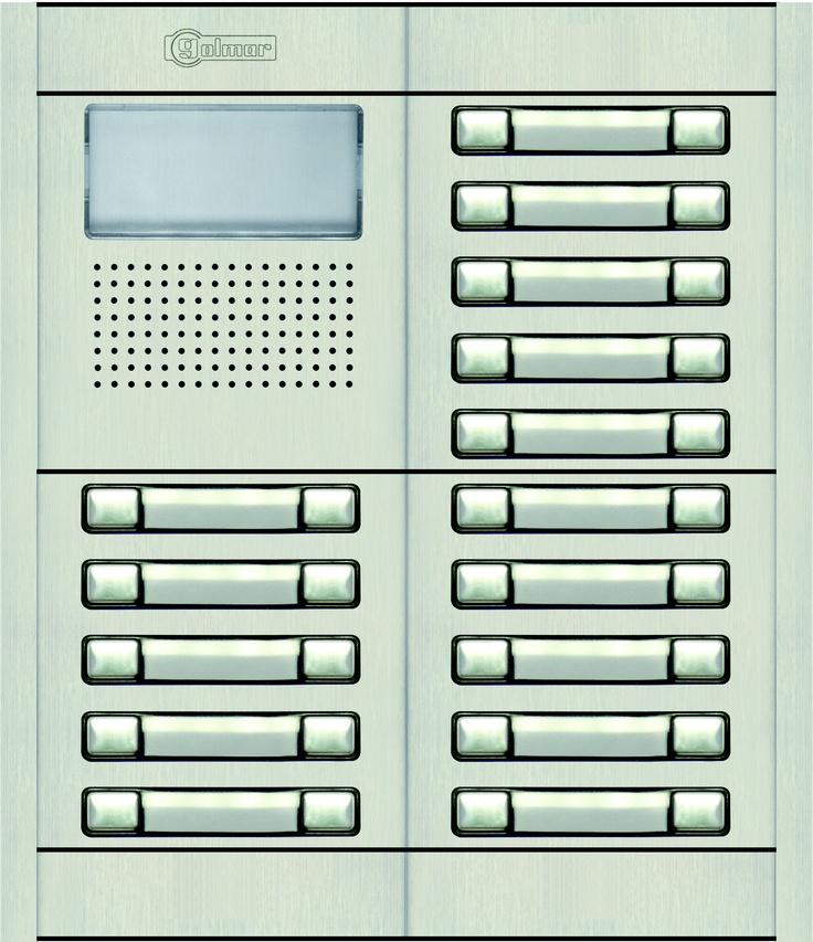 Sustitución telefonillos edificio de viviendas.